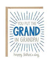 GRAND IN GRANDPA CARD
