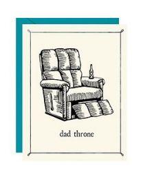 DAD THRONE CARD
