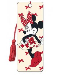 3D BOOKMARK - MINNIE - RED
