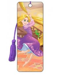 3D BOOKMARK - TANGLED - RAPUNZEL SWINGING