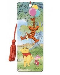 3D BOOKMARK - WINNIE THE POOH - BALLOONS
