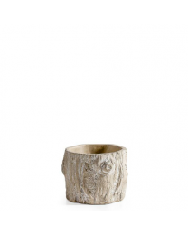 Alder Bark Drop Pot - Small
