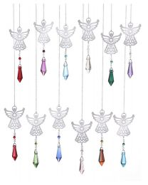 Prism Birthstone Angel Suncatchers