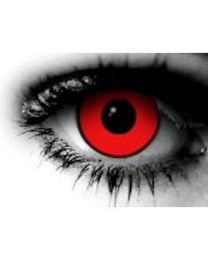 CONTACT LENS - VAMPIRE RED