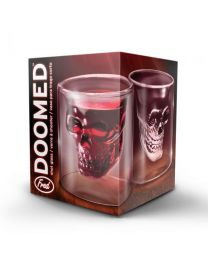 DOOMED - SKULL SHOT GLASS