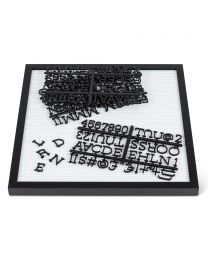 Extra Letters for Letterboards