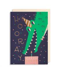 Hooray - Greeting Card
