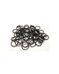 Thick domed Hematite Rings- sizes 5 to 12