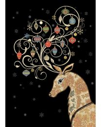 JEWELS - BAUBLE ANTLERS Card