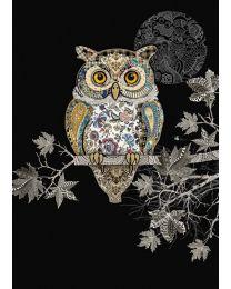 JEWELS - DECORATIVE OWL Card