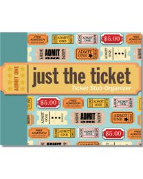 JUST THE TICKET ORGANIZER