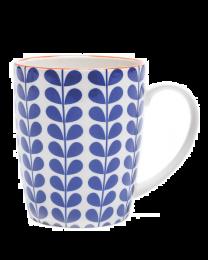 Kiri Porcelain Mug - Blue Vine