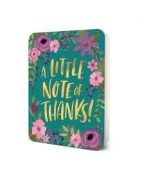 LITTLE NOTE OF THANKS CARD