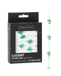 Lucent Mini Cactus Shape 20 LED Battery Light String