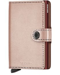 Miniwallet Metallic - Rose