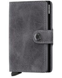 Miniwallet Vintage Grey-Black