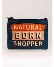 NATURAL BORN SHOPPER COINPURSE