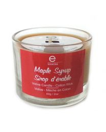 Maple Syrup Candle with Cotton Wick - Votive 60g