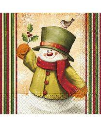 Hello Snowman - Luncheon Napkin