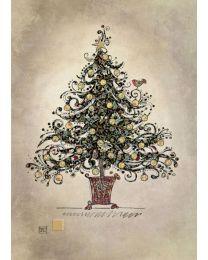 PAPER & FOIL - TREE - BLANK Card