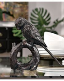 Polyresin Parrot Table Decor