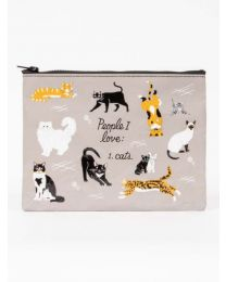 PEOPLE I LOVE : CATS ZIPPER POUCH