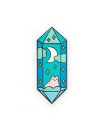 Crystal Cat Pin