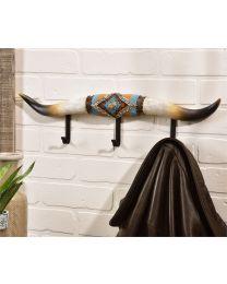 Resin Long Horn Hooks (3 Hooks)