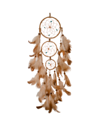 DREAM CATCHER (3 RINGS) 17IN L