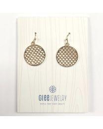Sea Fairy Earrings-gold