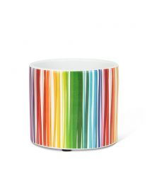 Small Colour Stripe Planter