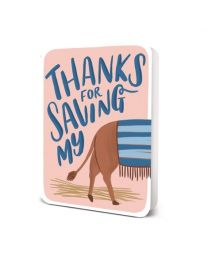 THANKS FOR SAVING MY CARD