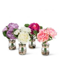 Triple Peony in Vase