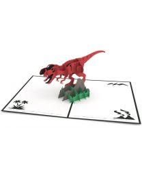 T-Rex 3D card