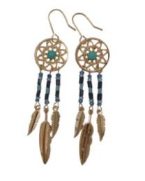 EARRINGS DREAM CATCHER