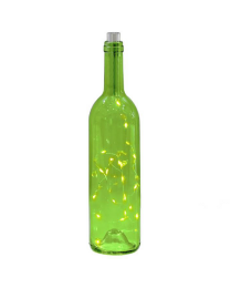 Wine Bottle 20 Micro LED Lantern - Green??