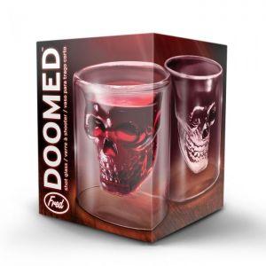 DOOMED - SKULL SHOT GLASS