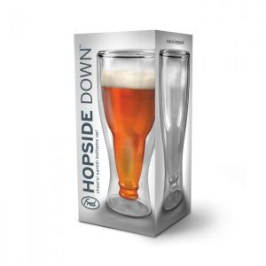 HOPSIDE DOWN - BEER GLASS