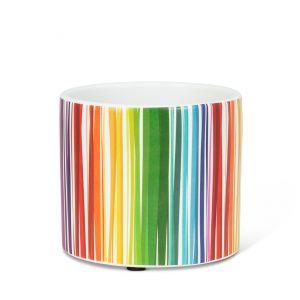 Small Colour Stripe Planter